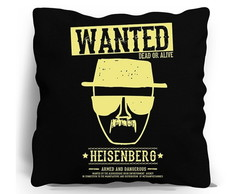 ALMOFADA SILK SCREEN - HEISENBERG