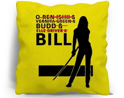ALMOFADA SILK SCREEN - BILL KILL