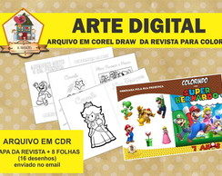 ARTE DIGITAL DA REVISTA DE COLORIR