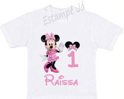 Camiseta da Minnie Camiseta personalizada da Minnie
