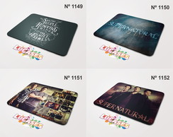 Mouse Pad Supernatural Serie Winchester