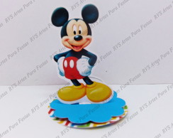 Aplique 3D - Mickey Mouse