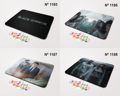 Mouse Pad Black Mirror Serie Series Foto