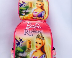 Mochila escolar Barbie Rapunzel Kit