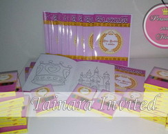 Kit Colorir -Realeza Rosa