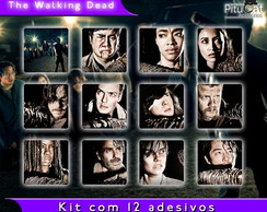 The Walking Dead 12 adesivos temp 7 01