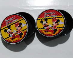 Latinha personalizada Mickey e Minnie