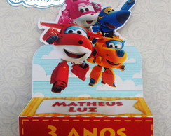 Porta Chocolate Duplo - Super Wings