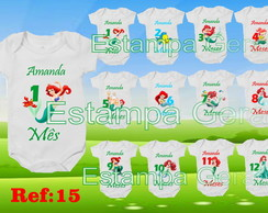 Kit body mesversario Ariel kit c/12