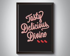 "Quadro ""Tasty Delicious Divine. Candy"""