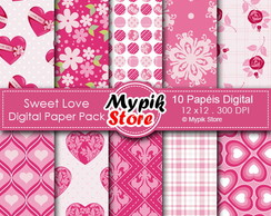 Kit Papel digital - Mod 33