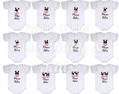 Kit Body Mêsversario Minnie Mv059