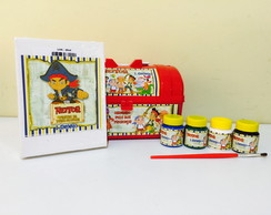 Kit Pintura jake e os piratas