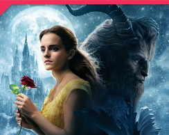 Painel Beauty and the beast 2,5x1,5m