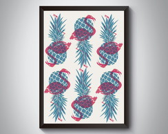 "Quadro ""Fruit and Animal"""