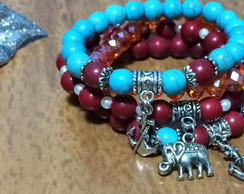 Mix Pulseira Red