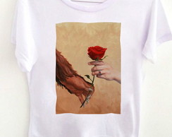 T-shirt Rose hands