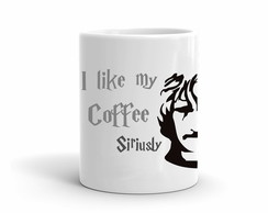 Caneca Harry Potter Coffee Sirius Black