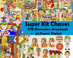 Super Kit digital Turma do Chaves - 21