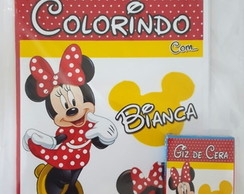 Kit de Colorir da Minnie