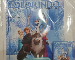 Kit de Colorir da Frozen