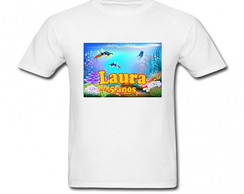 Camiseta Infantil Fundo do Mar