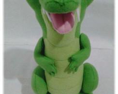 6a5e13d58b088 Crocodilo Louis em Feltro   Elo7