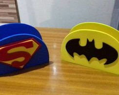 Porta guardanapos Batman & superman