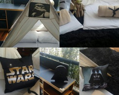 Cabana para Festa do Pijama Star Wars