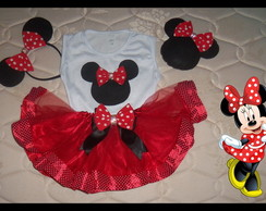 Fantasia Minnie 1/2 anos Pronta Entrega
