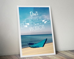 Quadro Vacation A3