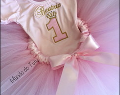 Conjunto Princesa (collant + tutu)