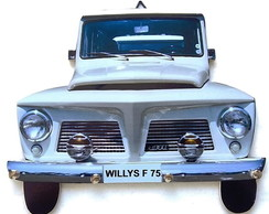 Porta Chaves Rural Willys F75