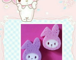 Esponja My Melody Hello Kitty + tag virtual
