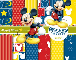 Kit Digital Mickey Mouse - 01
