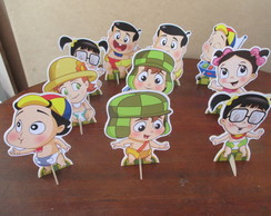 Totem Turma do Chaves Baby Dec.Mesa