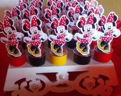 MINI TUBETES DA MINNIE VERMELHA