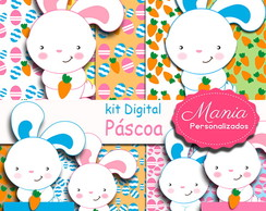 Kit Digital Páscoa cute !