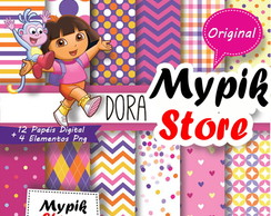 Kit Digital Dora Aventureira - 38