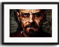 Quadro Breaking Bad com Paspatur