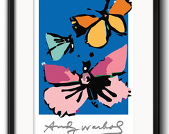 Quadro Andy Warhol Pop Art com Paspatur