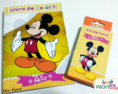 Mini Kit de Colorir - Mickey