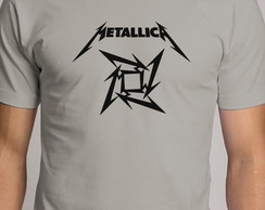 Camiseta Metallica banda rock metal