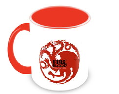 Caneca Game of Thrones - Casa Targaryen