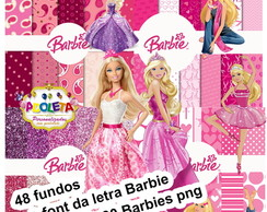 Kit Scrapbook Barbie R$10,00