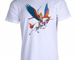 Camiseta He-Man e She-Ra 14