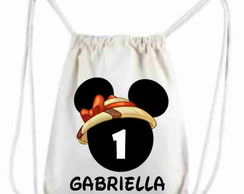 MOCHILA PERSONALIZADA MINNIE SAFARI