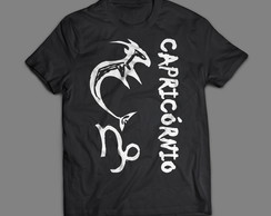 Camiseta Exclusiva Horóscopo Capricórnio