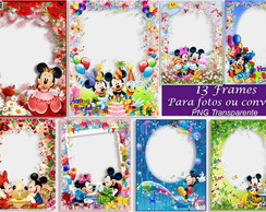 Kit Digital Mickey Minnie 08