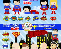 Kit Scrapbook super man